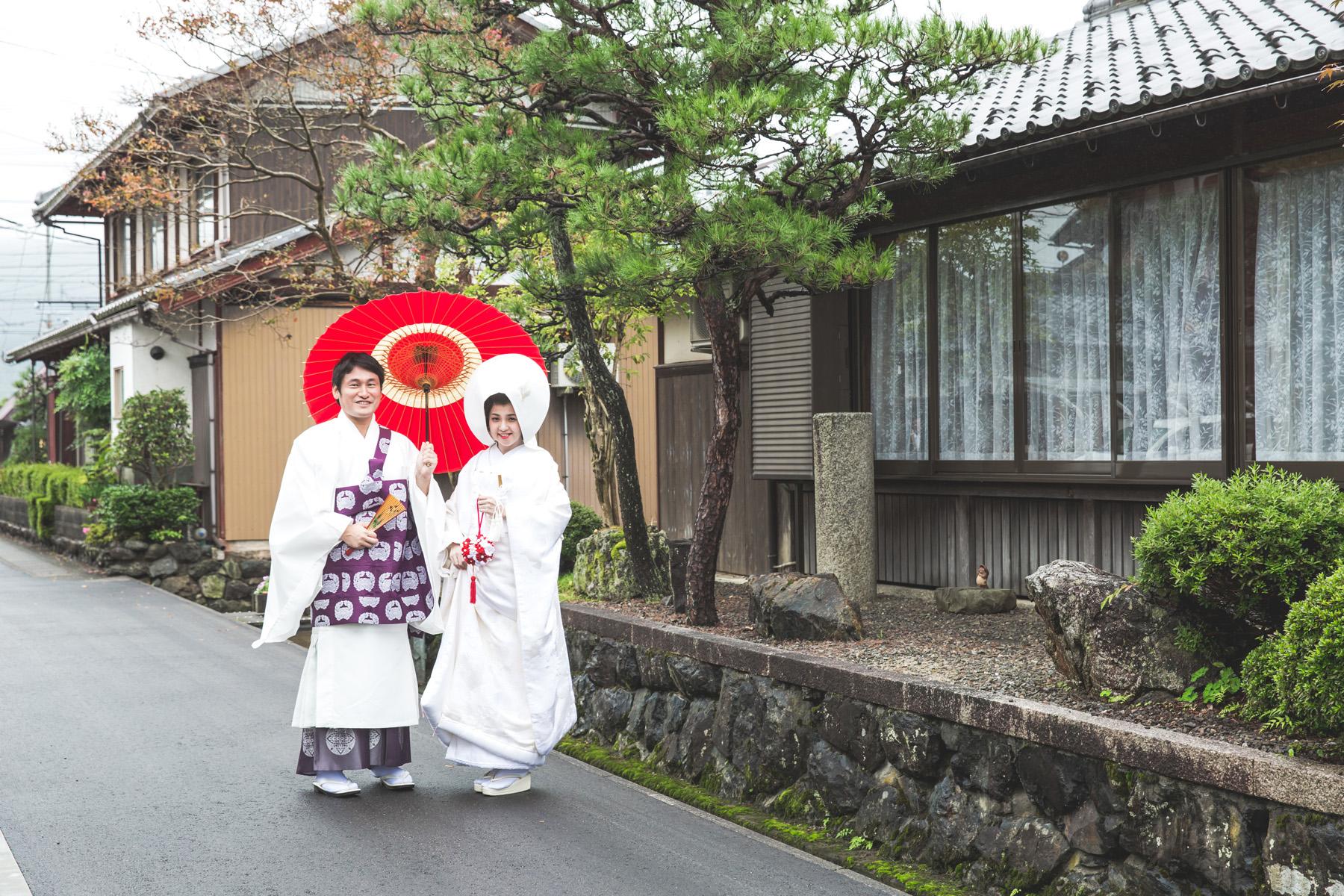滋賀県長浜市のお寺での仏前式撮影