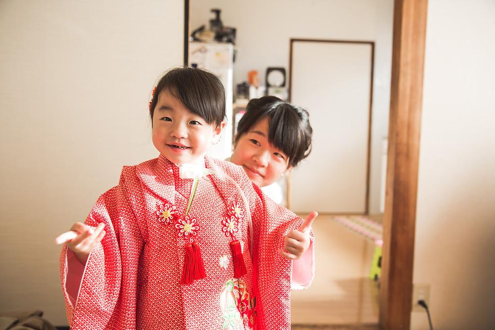 滋賀県大津市の建部大社へフリーカメラマンが七五三の出張撮影