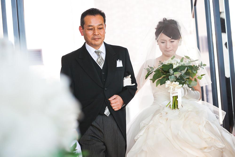 滋賀県長浜市の北ビワコホテルグラツィエでの結婚式、ご披露宴の様子をフリーカメラマンが写真撮影しました