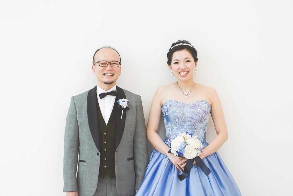 滋賀県長浜市のスタイリッシュコンフォートリィネアさんでカラードレス結婚前撮り撮影を出張カメラマンがしました。