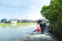 滋賀県愛荘町のお宮参り撮影のお写真