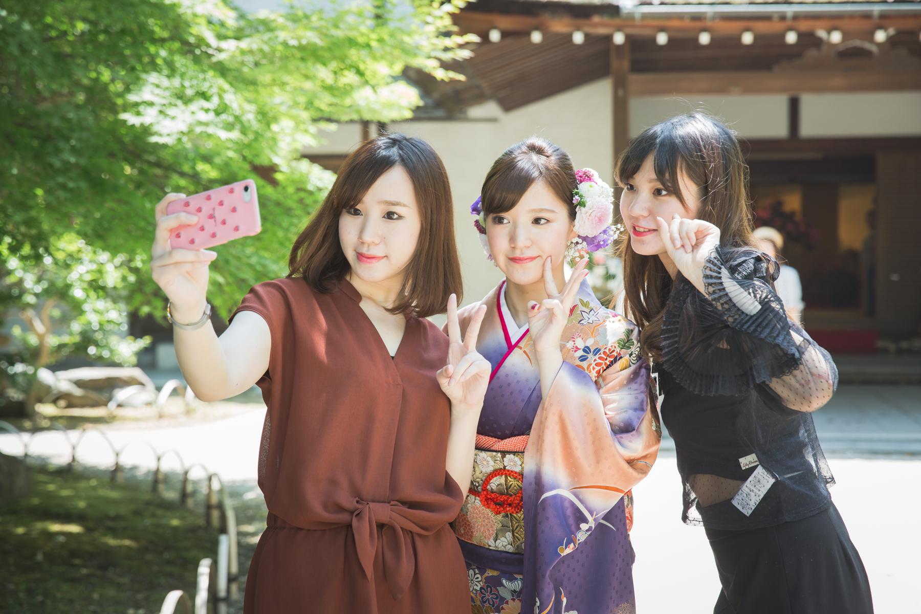 滋賀県長浜市で成人前撮り撮影