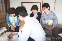 滋賀県日野のお宮参り撮影のお写真