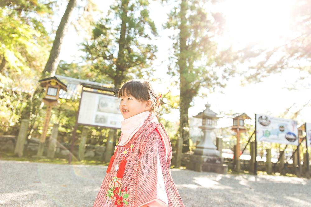 滋賀県長浜市を中心に家族写真を撮っています