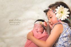 滋賀県長浜市での新生児フォト,newborn photo