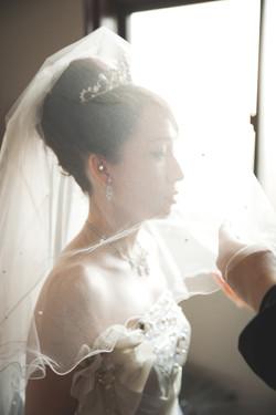 滋賀県彦根市の彦根カトリック教会での結婚式撮影