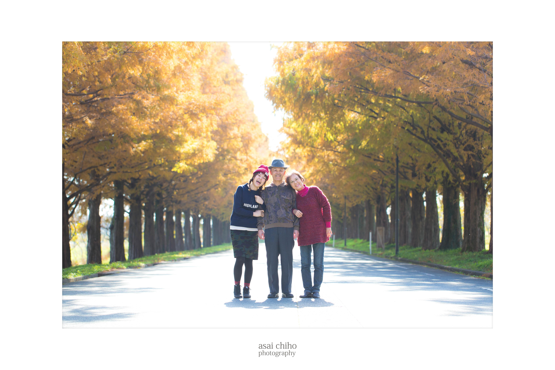滋賀県高島市マキノのメタセコイアでの結婚記念撮影