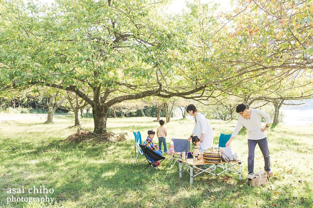 デイキャンプとご自宅撮影 | 滋賀県長浜市木之本