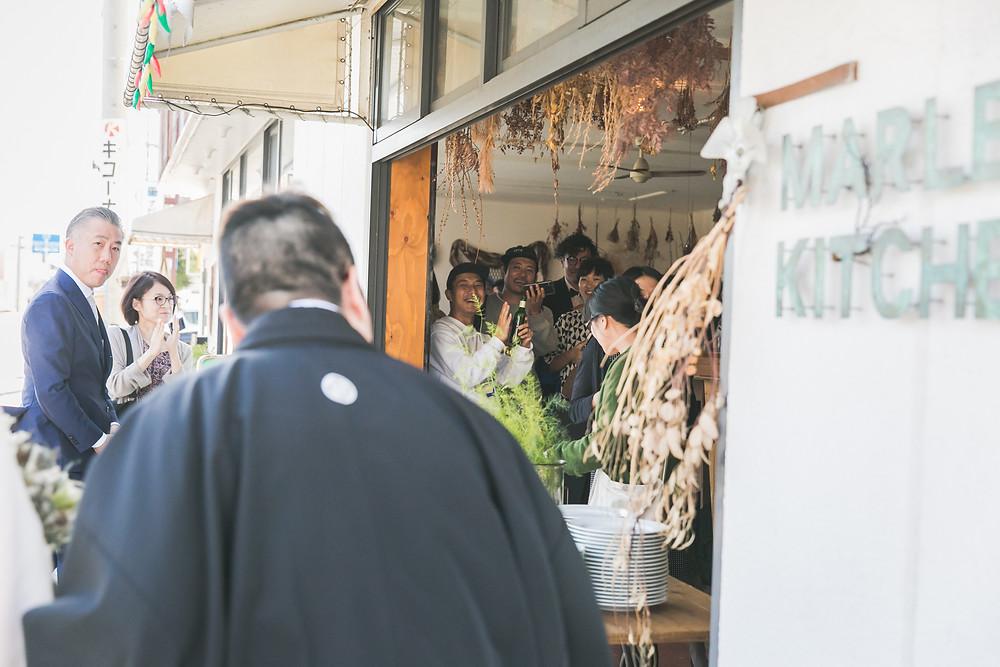 滋賀県彦根市のマーレーキッチンでウェディングパーティー!