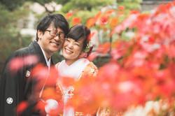 滋賀県長浜市の慶雲館で結婚前撮り