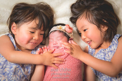 滋賀県長浜市での新生児フォト,newborn photoーンフォト