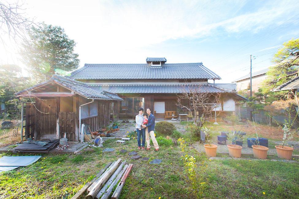 滋賀県日野市での家族写真撮影のお写真