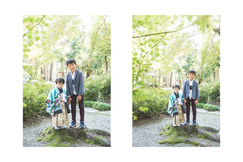 滋賀県犬上郡多賀町の多賀大社で七五三撮影をフリーカメラマンがしました