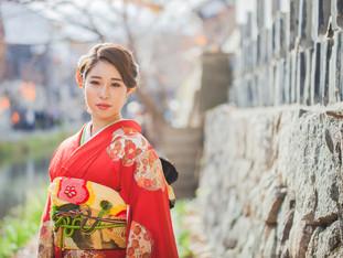 ご成人前撮り撮影 | 八幡堀 | 滋賀県近江八幡市