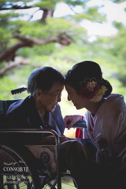 滋賀県長浜市慶雲館での結婚式前撮り撮影