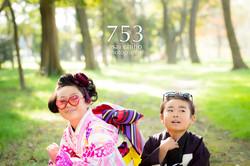 滋賀県彦根市での七五三撮影