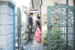 滋賀県建部大社で七五三出張撮影