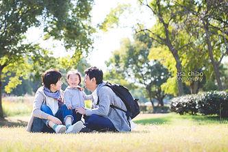 滋賀県で一歳記念の出張撮影