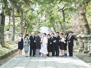 ご結婚おめでとうございます   長浜八幡宮   滋賀県長浜市