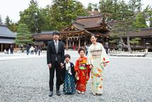 姉弟さんの七五三出張撮影 | 多賀大社 | 滋賀県犬上郡多賀町