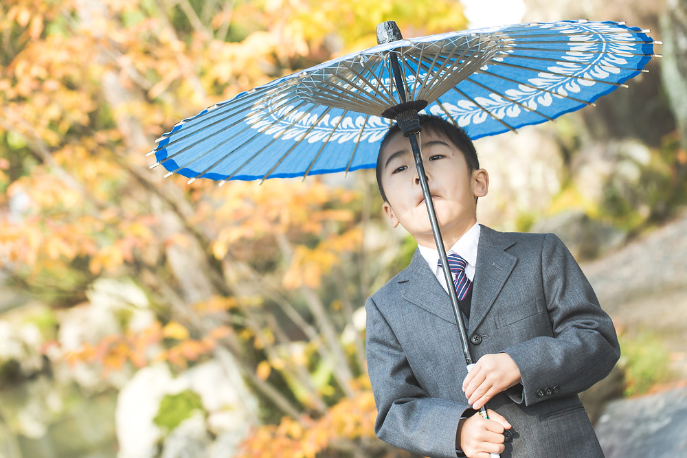 滋賀県長浜市の長浜八幡宮でフリーカメラマンが出張七五三撮影をしました