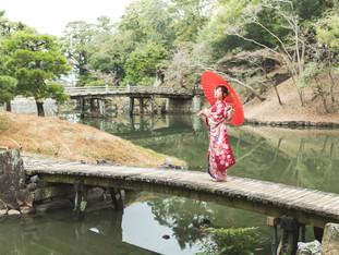 成人前撮り撮影 | 玄宮園 | 滋賀県彦根市