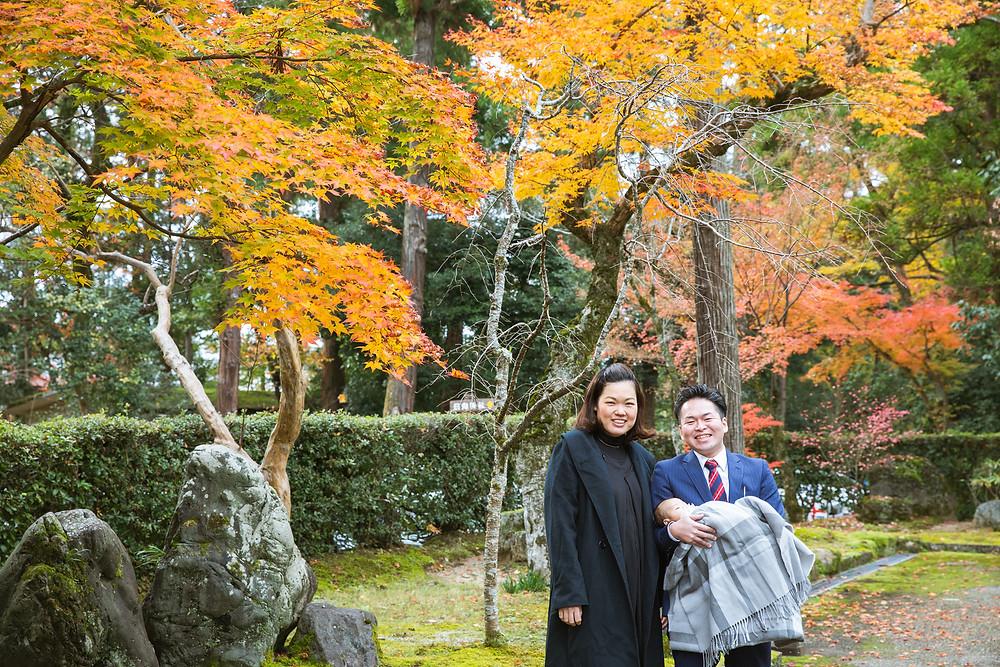 滋賀県長浜市を中心に彦根市や多賀町、高島市や大津、守山などはもちろん、京都、福井、岐阜などへも、お宮参りや七五三の出張撮影しております。
