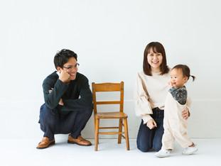家族写真撮影 | スタジオ撮影 | 滋賀県長浜市