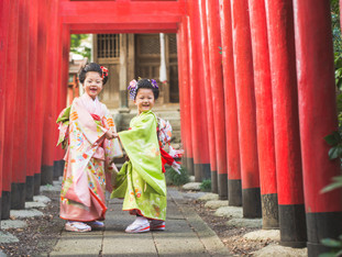 七五三のご祈祷風景撮影 | 野々宮神社 | 滋賀県東近江市
