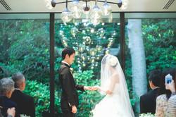 大阪での結婚式撮影