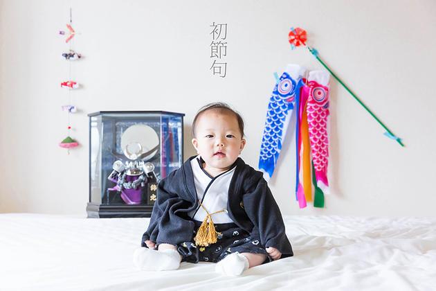 京都府竹田での初節句お祝い撮影影