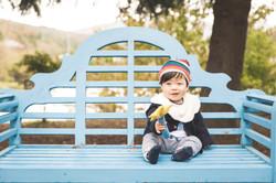 滋賀県米原市のローザンベリー多和田で男の子の1歳お誕生日記念撮影をしまし