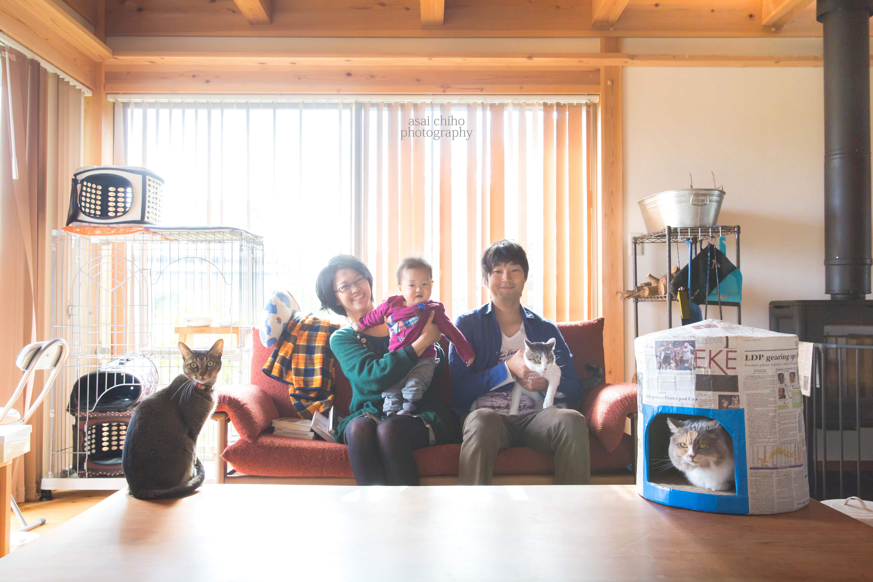 滋賀県安土での1歳誕生日撮影