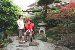 兵庫県姫路市での家族写真撮影