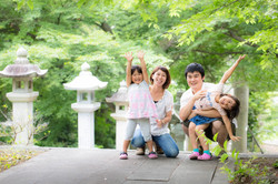 滋賀県長浜市での家族写真撮影
