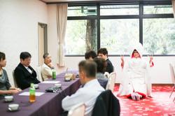 滋賀県彦根市の多賀大社での結婚式撮影