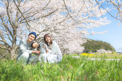 滋賀県彦根市でのファーストバースデー記念撮影