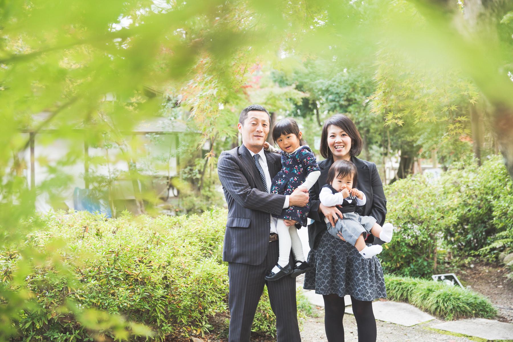 多賀大社で七五三の写真撮影