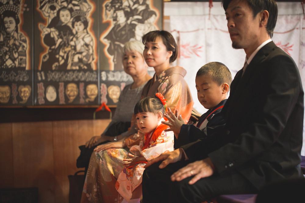 長浜市の慶雲館と長浜八幡宮でフリーカメラマンが七五三撮影をしました