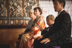 パパママおばあちゃんおじいちゃんと七五三撮影