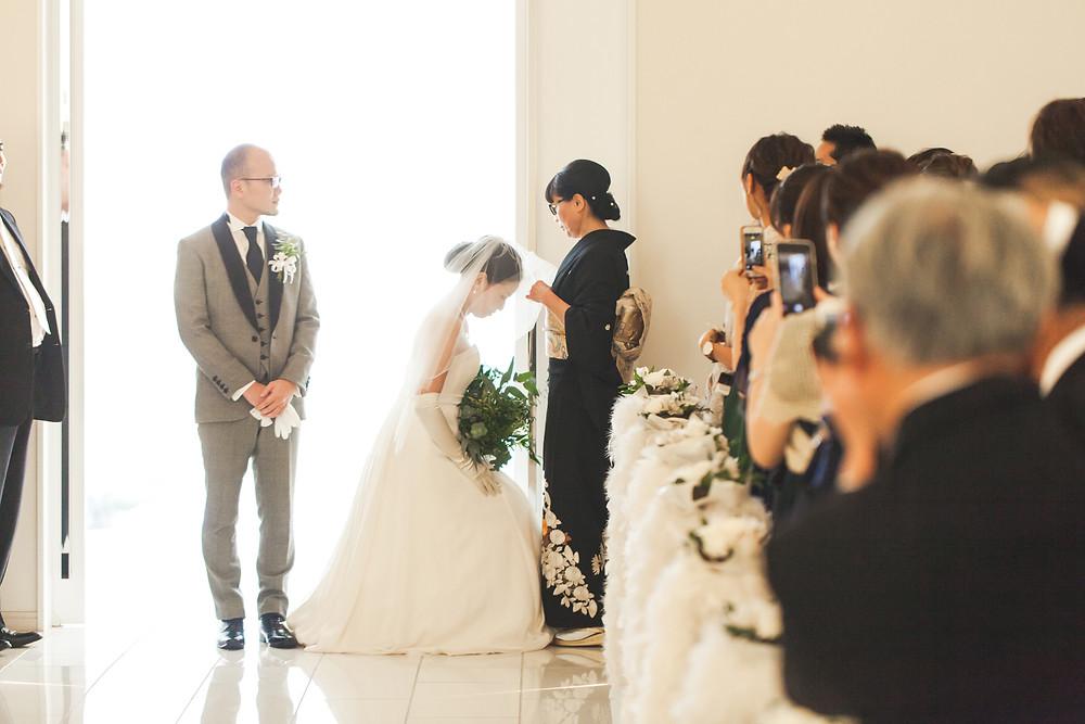滋賀県長浜市のスタイリッシュコンフォートリィネアさんへフリーカメラマンが出張結婚式撮影をしました