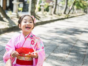 七歳女の子の七五三 | 長浜八幡宮 | 滋賀県長浜市