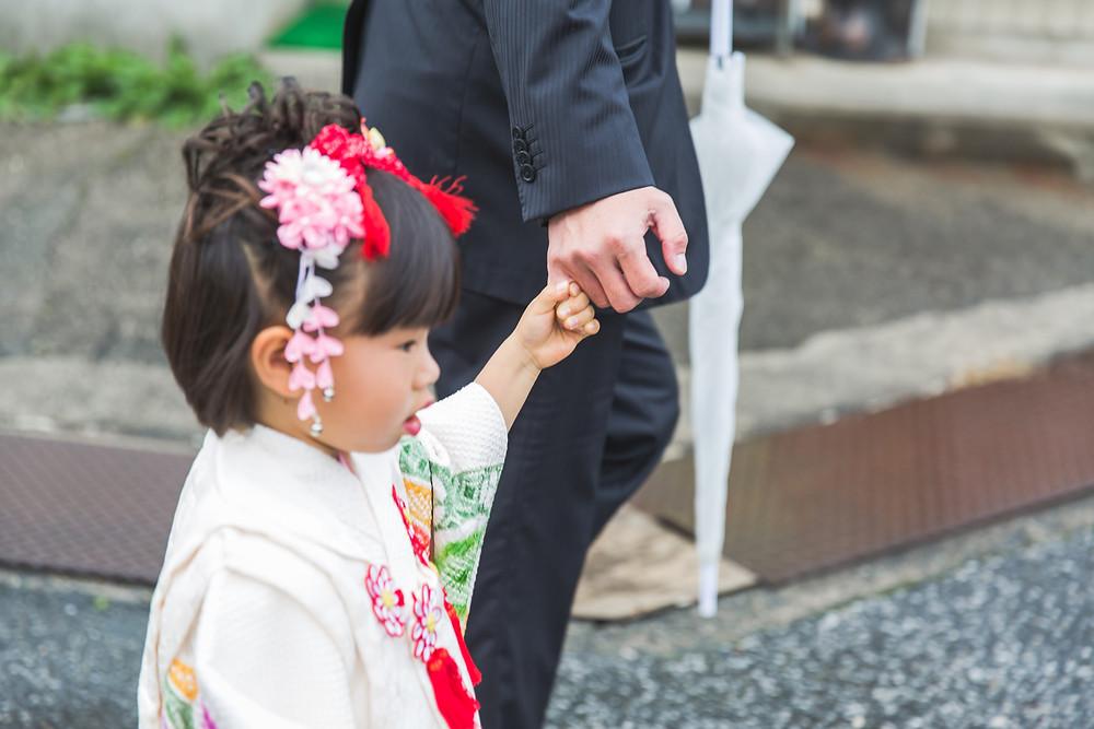 長浜八幡宮で七五三出張撮影!