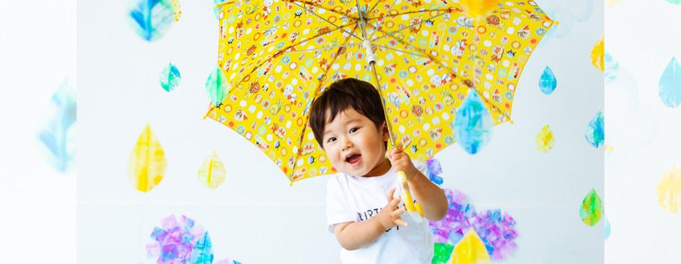 へんてこ写真館「雨の世界で撮影会」