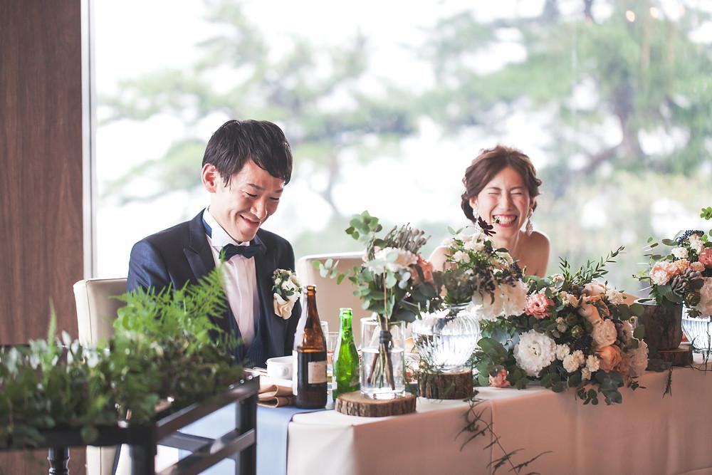 鳥羽国際ホテルでウェディングドレスを着て結婚ご披露宴した様子をフリーカメラマンが撮影しました