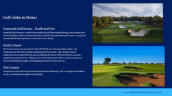 Golf in Dubai - UAE