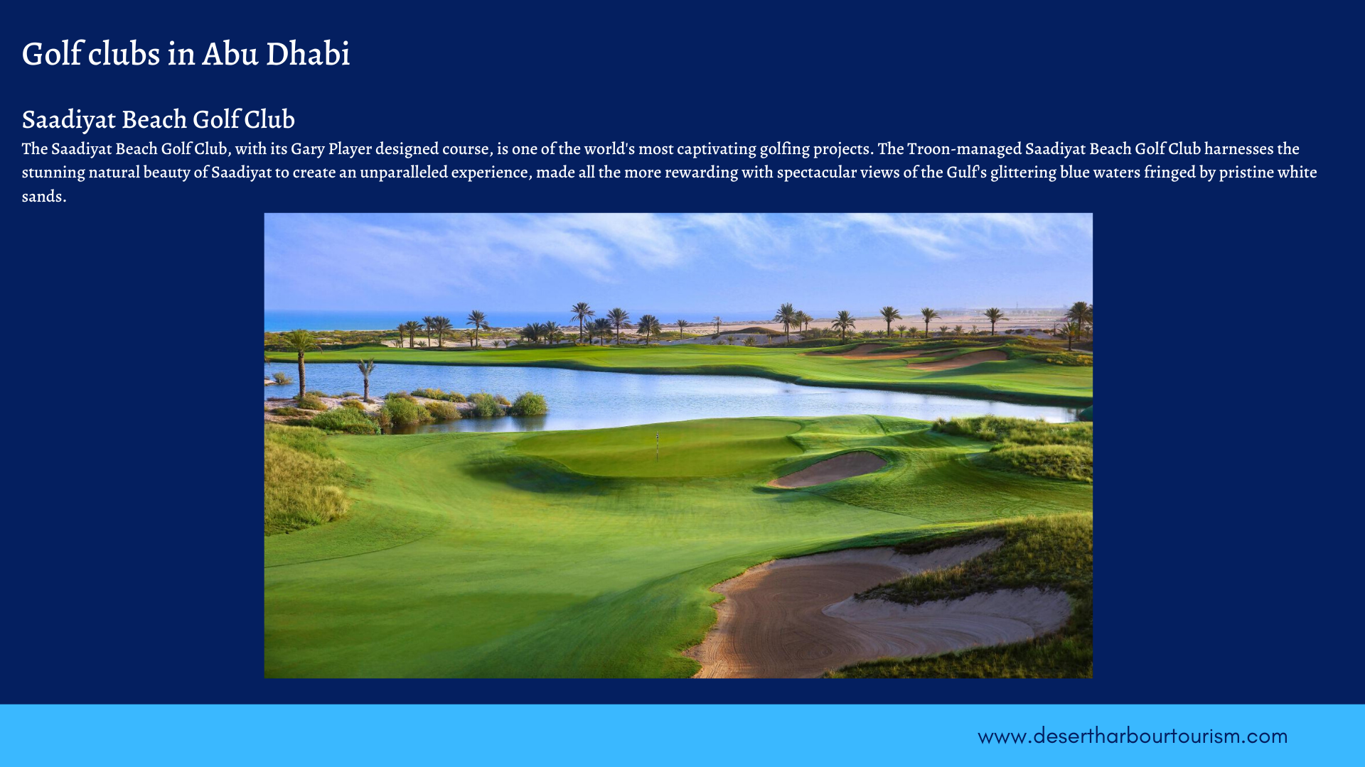 Golf in Dubai - UAE