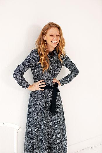 Ginger model vrouw