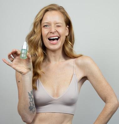SBT Skincare photoshoot