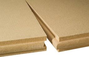 Houtvezelisolatie bestaat in harde en zachte vorm voor vloer, muur en daktoepassingen